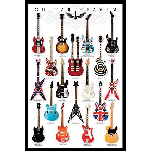 Ace Framing Guitar Heaven 24x36 Poster