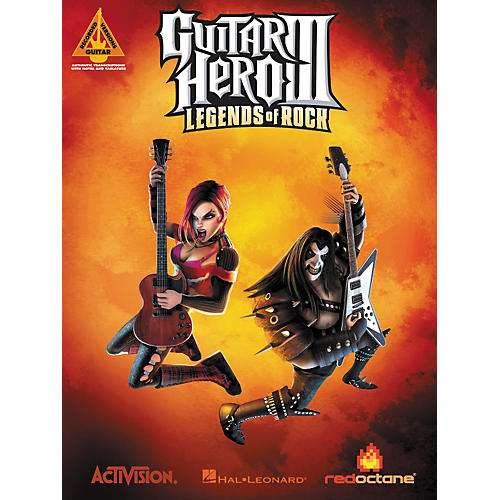 Hal Leonard Guitar Hero 3 Guitar Tab Songbook