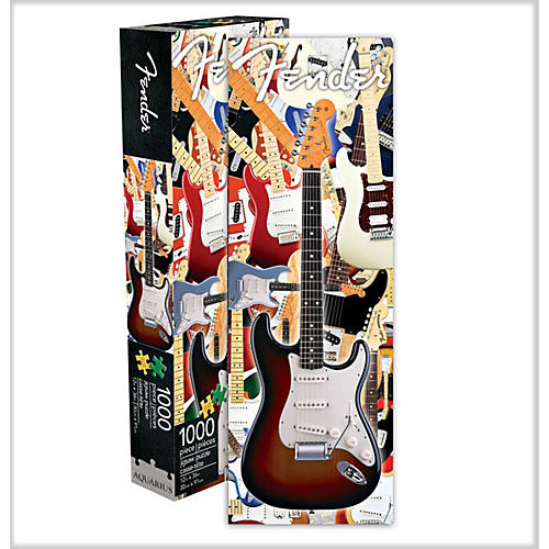 Fender Guitar Jigsaw Puzzle