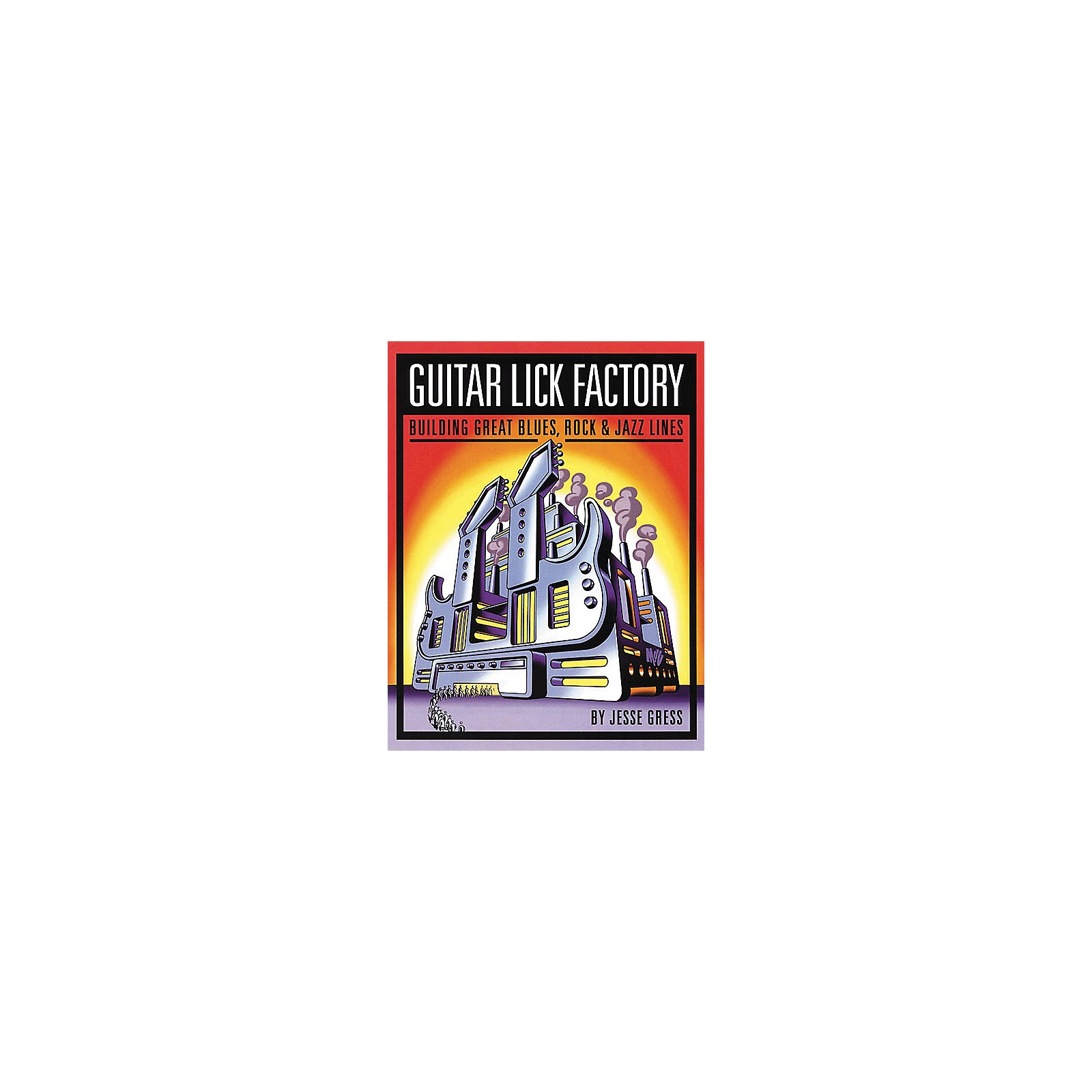 Backbeat Books Guitar Lick Factory Book