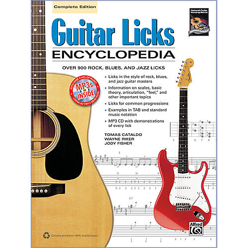 Alfred Guitar Licks Encyclopedia Book & CD
