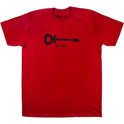 Charvel Guitar Logo Red T-Shirt