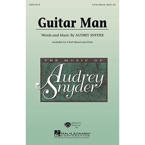 Hal Leonard Guitar Man ShowTrax CD Composed by Audrey Snyder