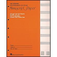 "Hal Leonard Guitar Manuscript Paper Standard 8 1/2"" x 11"""