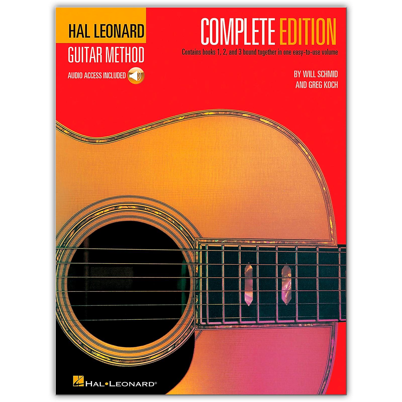 Hal Leonard Guitar Method Complete Edition (Book/Online Audio)