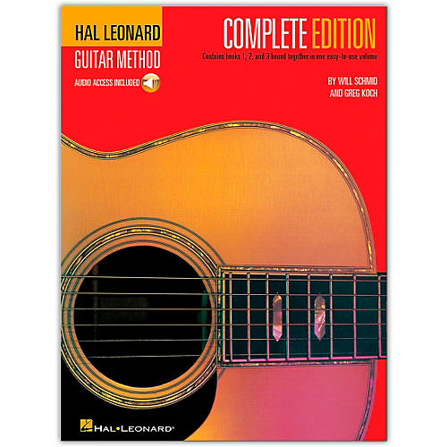 hal leonard guitar method complete edition book online audio