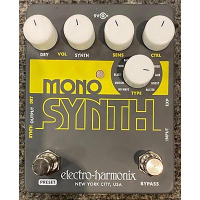 Electro-Harmonix Guitar Mono Synth Effect Pedal