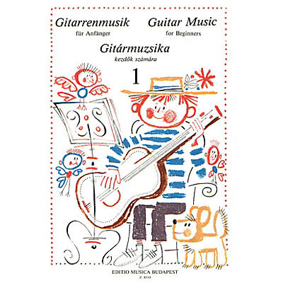 Editio Musica Budapest Guitar Music for Beginners - Volume 1 (Guitar Solo) EMB Series