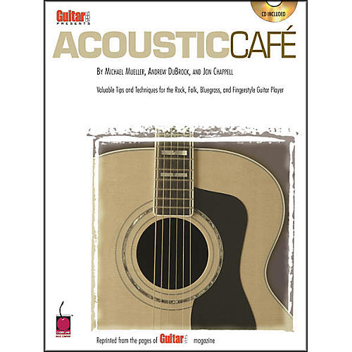 Cherry Lane Guitar One Presents Acoustic Caf Guitar Tab Songbook with CD