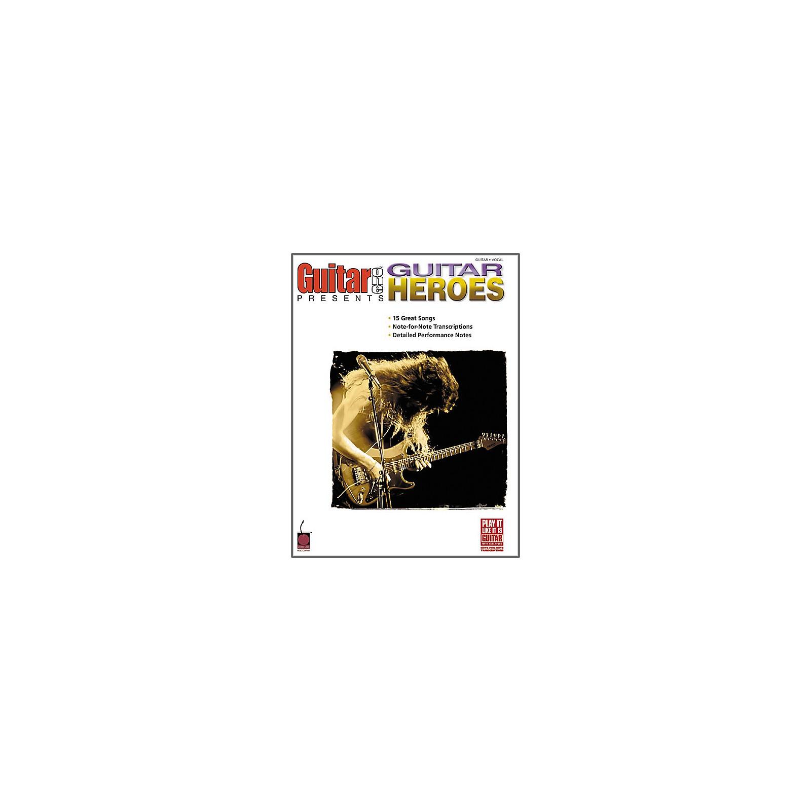 Cherry Lane Guitar One Presents Guitar Heroes Book