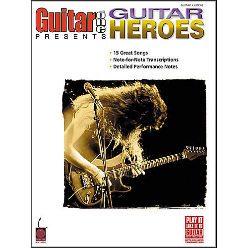 Cherry Lane Guitar One Presents Guitar Heroes Book