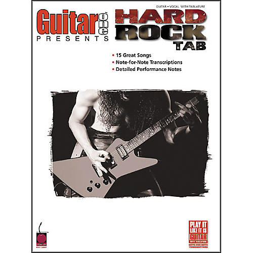 Cherry Lane Guitar One Presents Hard Rock Guitar Tab Songbook