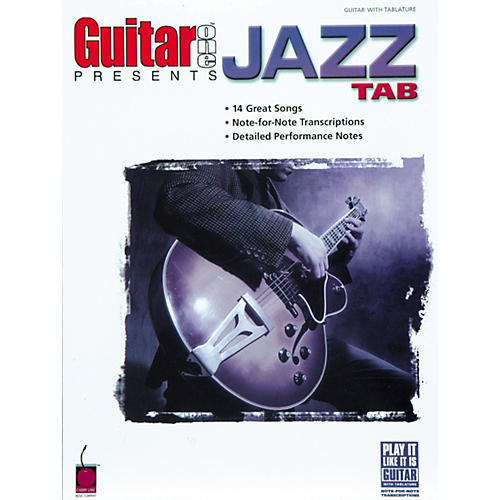 Cherry Lane Guitar One Presents Jazz Tab Book