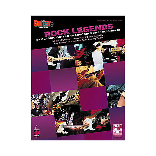 Cherry Lane Guitar One Presents Rock Legends Book