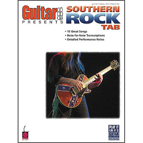 Cherry Lane Guitar One Presents Southern Rock Tab Book