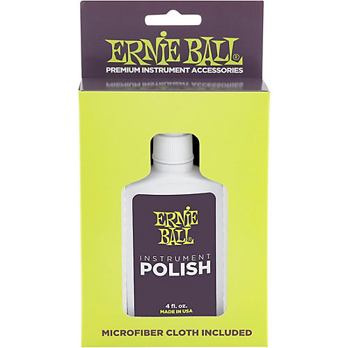 Ernie Ball Guitar Polish And Cloth