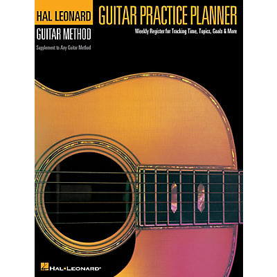 Hal Leonard Guitar Practice Planner Reference Series Softcover Written by Various Authors