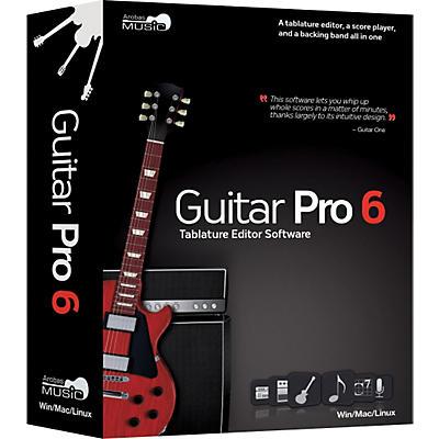 eMedia Guitar Pro 6.0 Tablature Editing Software