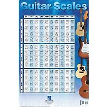 Hal Leonard Guitar Scales Poster