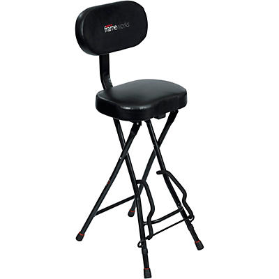 Gator Guitar Seat and Stand Combo