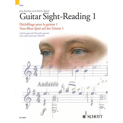 Schott Guitar Sight-Reading 1 Guitar Series Written by John Kember