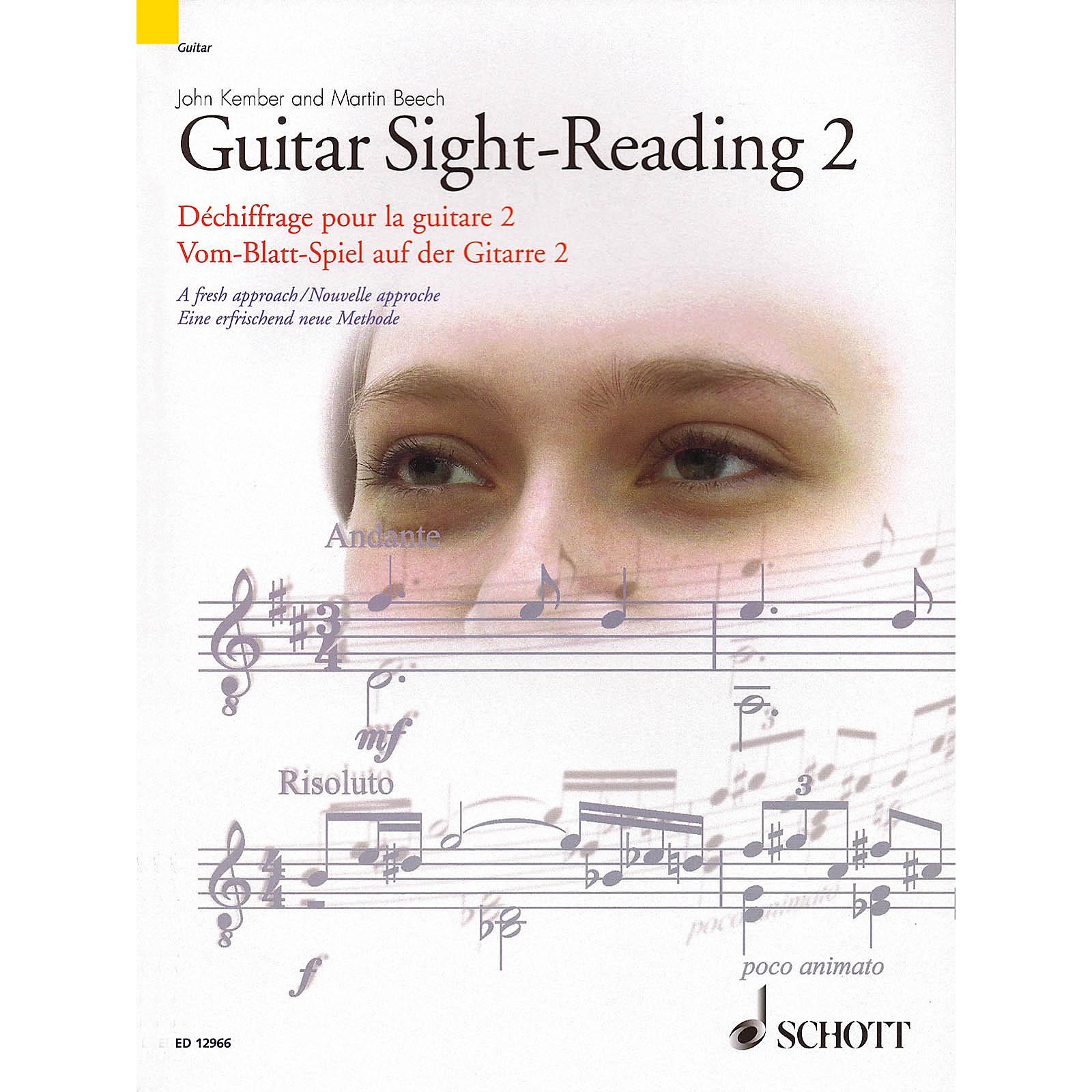 Schott Guitar Sight-Reading 2 (A Fresh Approach) Guitar Series Softcover