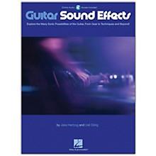 Hal Leonard Guitar Sound Effects Book/Audio Online