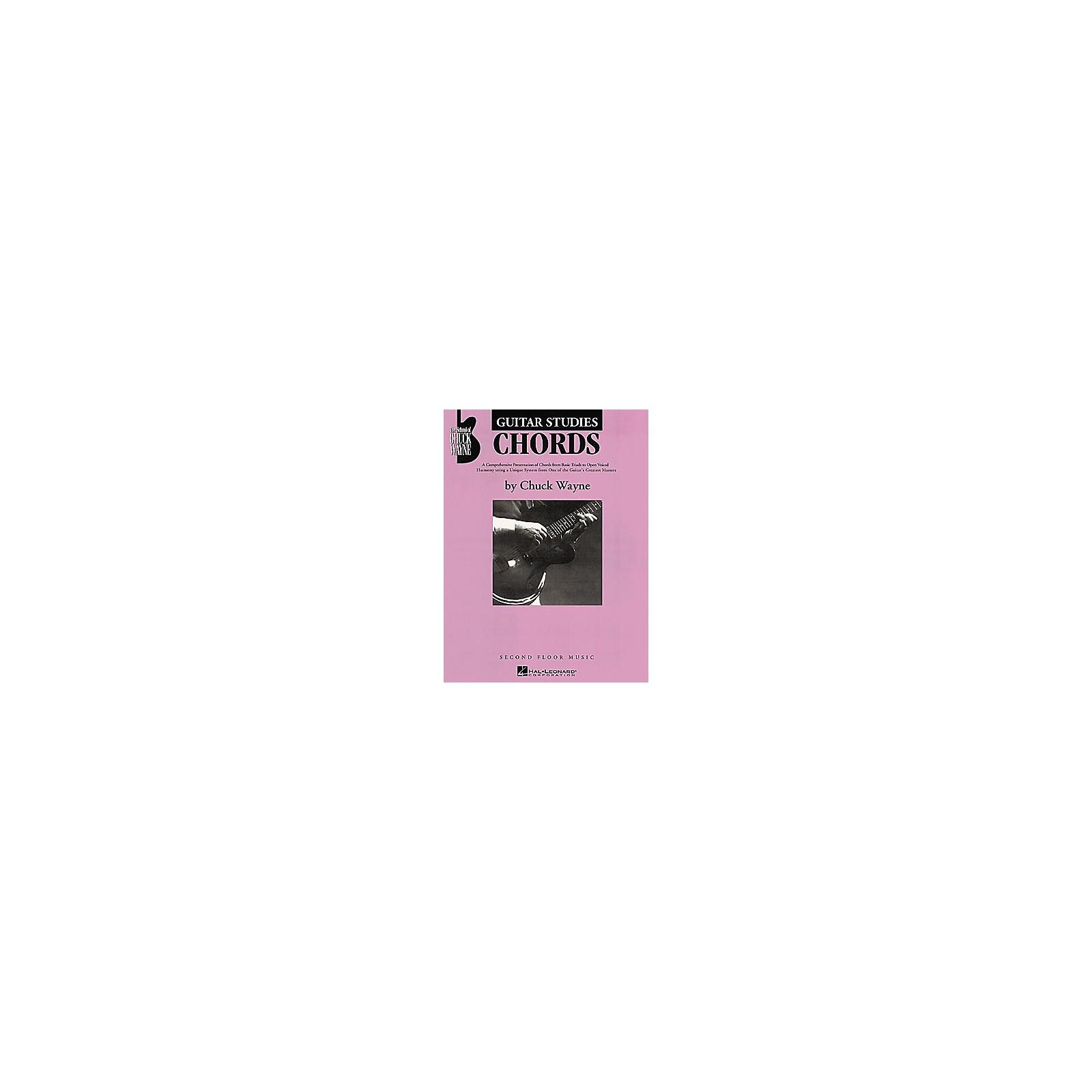 Second Floor Music Guitar Studies - Chords Book by Chuck Wayne