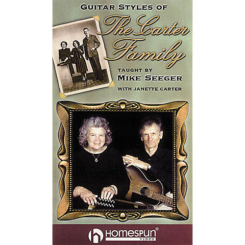 Homespun Guitar Styles of The Carter Family (VHS)