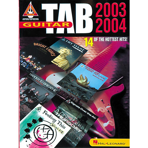 Hal Leonard Guitar Tab 2003-2004 Book