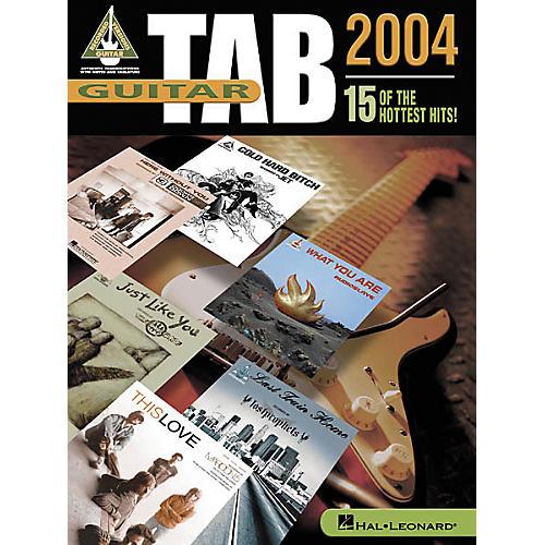 Hal Leonard Guitar Tab 2004 Songbook