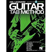 Hal Leonard Guitar Tab Method Book 3 Book/Audio Online