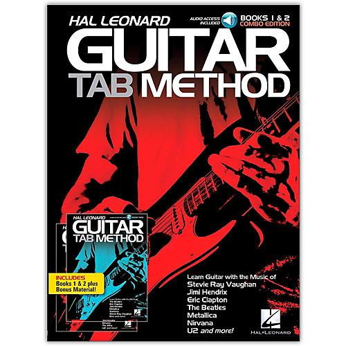 Hal Leonard Guitar Tab Method Books 1 & 2 Combo Edition (Book/Online Audio)