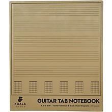 Koala Music Guitar Tab Notebook