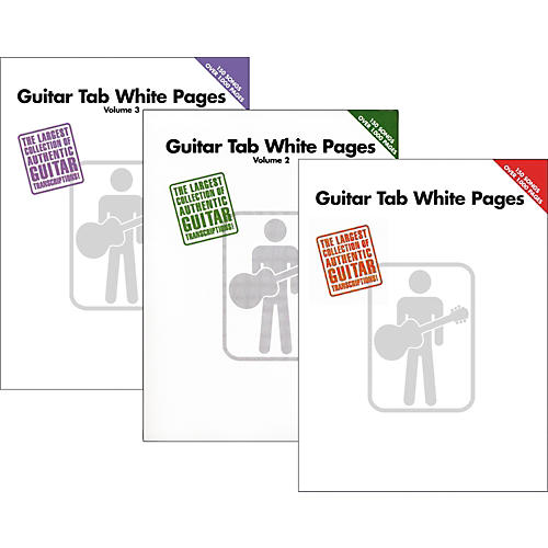 Guitar kryptonite guitar tabs : Hal Leonard Guitar Tab White Pages Vol. 1 - 3 | Musician's Friend