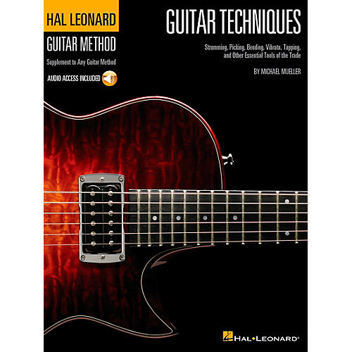 Hal Leonard Guitar Techniques - Supplement to any Guitar Method (Book/CD)