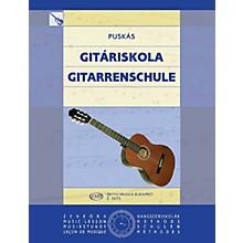 Editio Musica Budapest Guitar Tutor (Guitar Solo) EMB Series Composed by Tibor Puskás