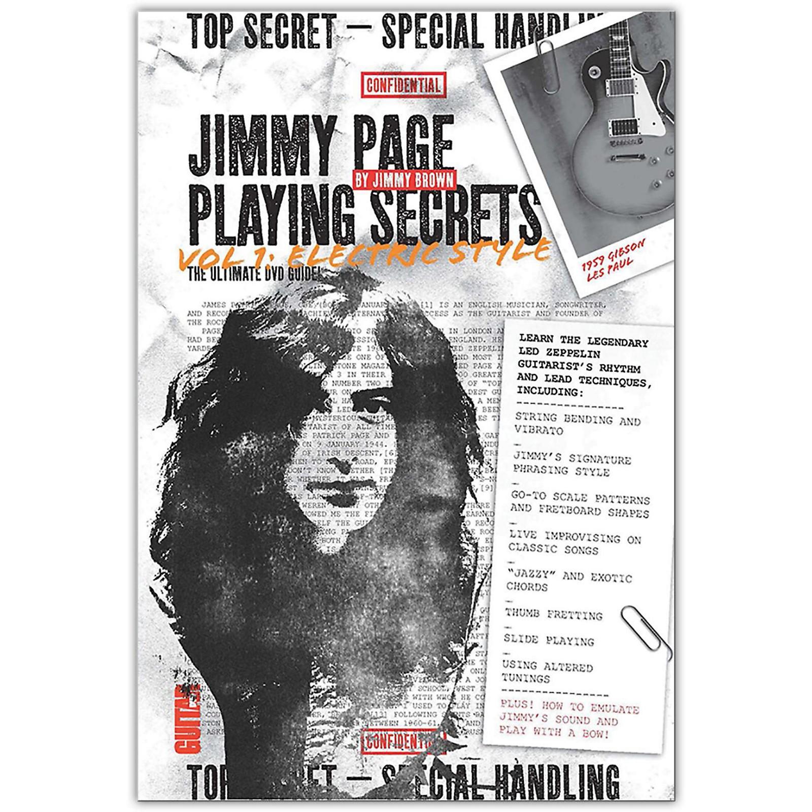 Alfred Guitar World - Jimmy Page Playing Secrets DVD Intermediate