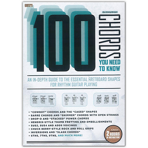 Guitar World Guitar World: 100 Chords You Need to Know DVD Intermediate