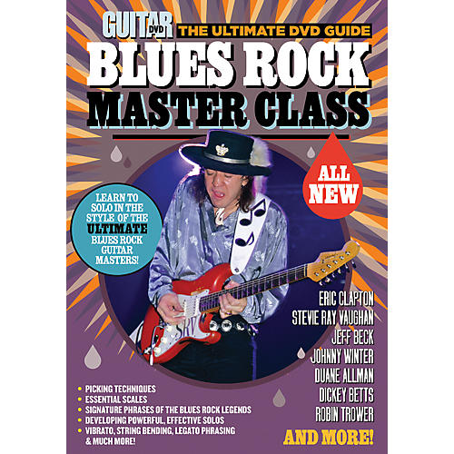 Alfred Guitar World Blues Rock Master Class DVD