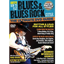 Alfred Guitar World How To Play Blues & Blues Rock Guitar DVD