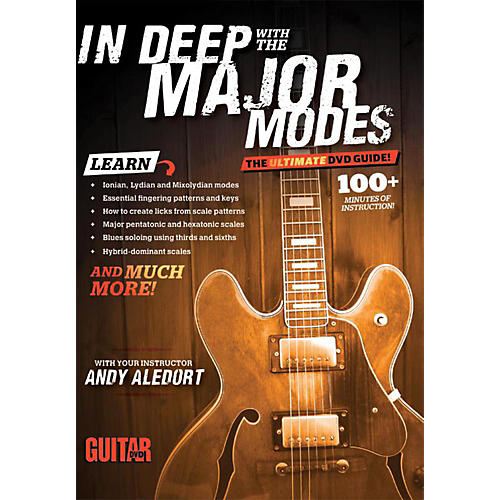 Alfred Guitar World In Deep with the Major Modes DVD