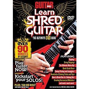 alfred guitar world learn shred guitar dvd musician 39 s friend. Black Bedroom Furniture Sets. Home Design Ideas