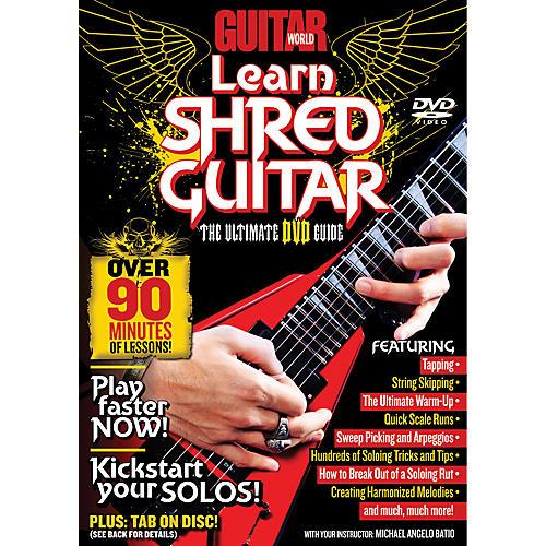 Alfred Guitar World Learn Shred Guitar DVD