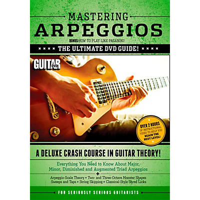Alfred Guitar World Mastering Arpeggios Deluxe:  A Crash Course in Guitar Theory DVD
