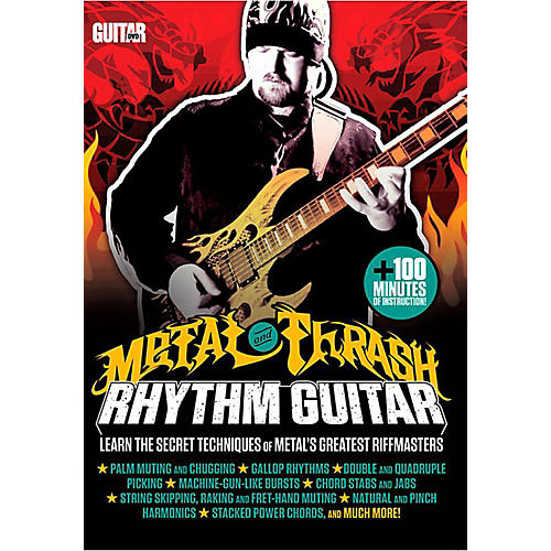 Guitar World Guitar World: Metal and Thrash Rhythm Guitar - Intermediate DVD