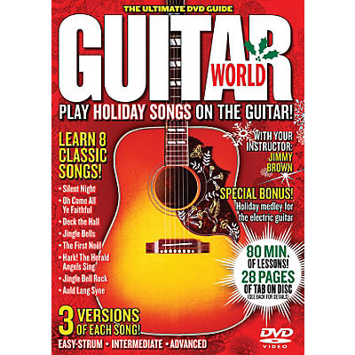 Alfred Guitar World Play Holiday Songs on the Guitar (DVD)