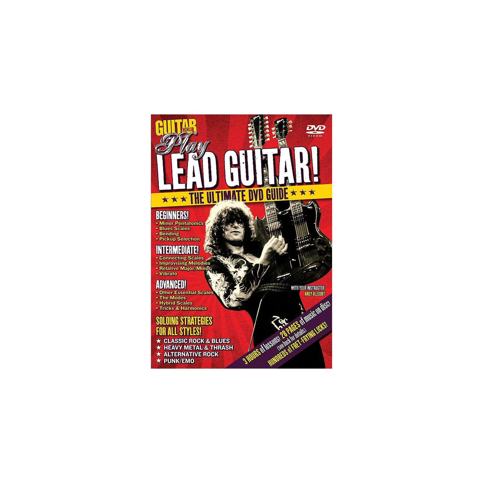Alfred Guitar World Play Lead Guitar DVD