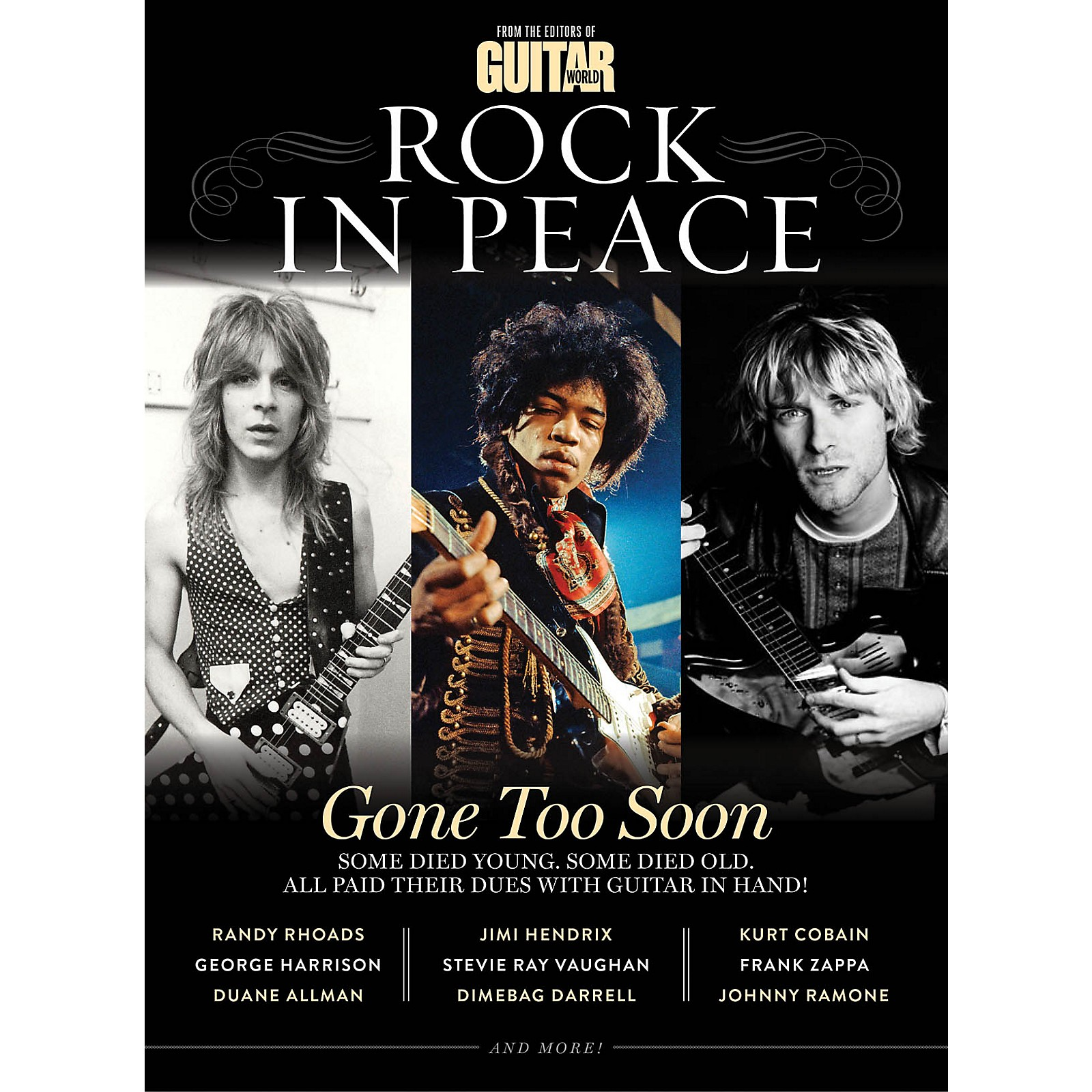 Time Home Entertainment Guitar World Presents: Rock in Peace Book Series Softcover