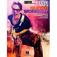 Hal Leonard Guitar World Presents Steve Vai's Guitar Workout